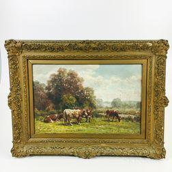 George Arthur Hays (American, 1854-1945)       The Meadowy Pasture