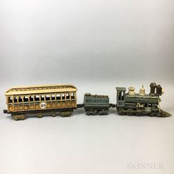 Charles D. Forster Ceramic Victorian Train