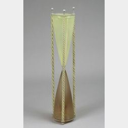 Industrial Design Art Glass Hourglass