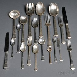 Tiffany & Co. Windham   Pattern Sterling Silver Flatware Service