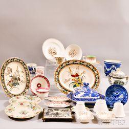 Approximately Twenty-six Ceramic Tableware Items