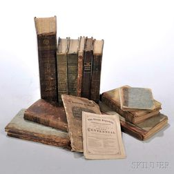 Rare Books, Fourteen Volumes from the 18th and 19th Century