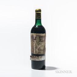 Chateau Pichon Lalande 1949, 1 bottle