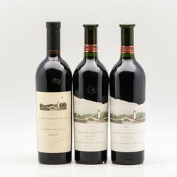 Robert Mondavi Winery Cabernet Sauvignon Reserve, 3 bottles
