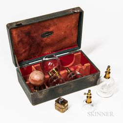 19th Century Cased Bloodletting and Cupping Set