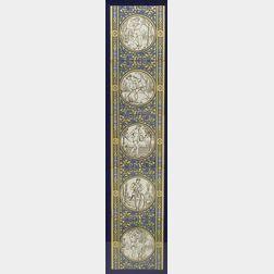 Framed Minton Tile Frieze