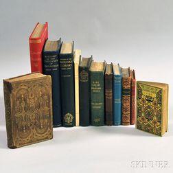 Mixed Lot, Twelve Volumes:
