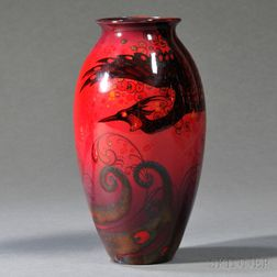 Royal Doulton Sung Ware Flambe Vase