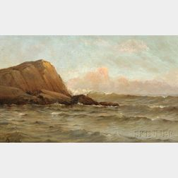 Alfred Thompson Bricher (American, 1837-1908)      Coastal Scene