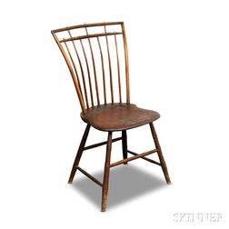 Bamboo-turned Windsor Side Chair