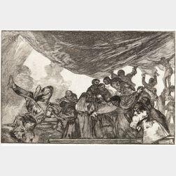Francisco José de Goya y Lucientes (Spanish, 1746-1828)      Disparate Claro