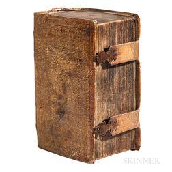 Bible, German. Sacra Biblia, das ist Die Gantze Heil. Schrifft Alten und Neuen Testaments, nach der letzten Römischen Sixtiner Edition.