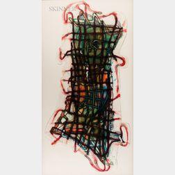 Elizabeth Murray (American, 1940-2007)      Wiggle Manhattan