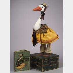 Rare Advertising Automaton of  Denslow's Mother Goose