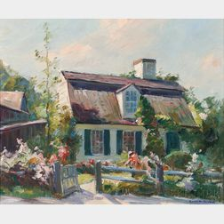 Emile Albert Gruppé (American, 1896-1978)      New England Cottage