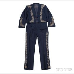 Little Jimmy Dickens     Navy Blue Suit