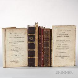 Burke, Edmund (1729-1797) Seven Titles.