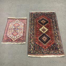 Two Yalameh Rugs