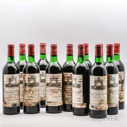 Chateau Leoville Las Cases 1977, 12 bottles