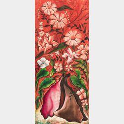 Jacques-Enguerrand Gourgue (Haitian, 1930-1996)    Floral Still Life