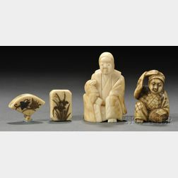 Four Ivory Items