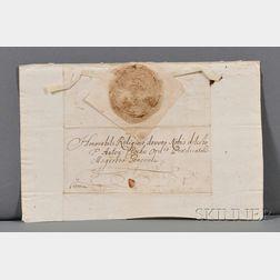 Joseph I, Holy Roman Emperor (1678-1711) Signed Letter.