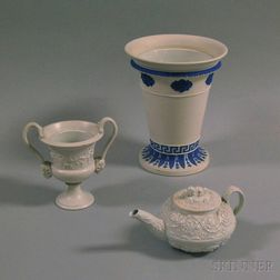 Three Ceramic Wedgwood Vessels