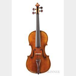 Swiss Violin, J. Emile Züst, Zurich, 1913