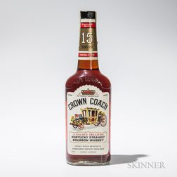 Crown Coach 15 Years Old 1951, 1 4/5 quart bottle