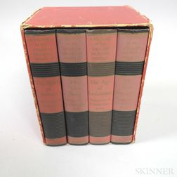 Four Volume Set of Winston Churchill's A History of the English Speaking Peoples