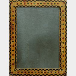 Paint Decorated Pine Mirror Frame