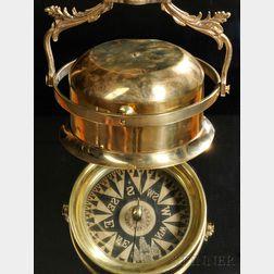 T.S & J.D. Negus Brass Telltale Ships Compass