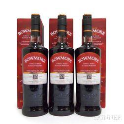 Bowmore The Devils Casks 10 Years Old, 3 750ml bottles (oc)