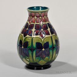 Moorcroft Violet Vase