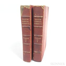 Two Volumes of Elisabeth Cary's Poems by Dante Gabriel Rossetti