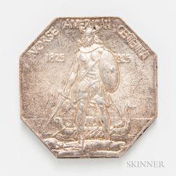 1925 Norse American Centennial Medal, Thick Planchet