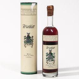 Willett Family Estate Single Barrel Rye 25 Years Old, 1 750ml bottle (ot)