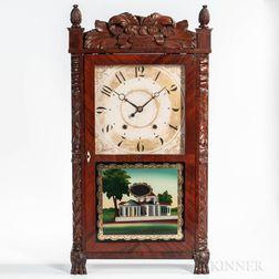 E. Terry & Son's Carved Shelf Clock