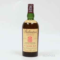 Ballantines 17 Years Old, 1 bottle Spirits cannot be shipped. Please see http://bit.ly/sk-spirits for more info.