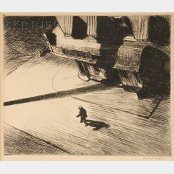 Edward Hopper (American, 1882-1967)      Night Shadows