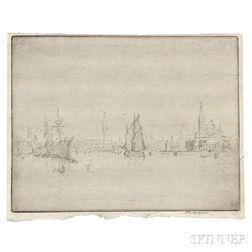 Joseph Pennell (American, 1860-1926)      San Georgio, Venice