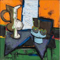 Claude Venard (French, 1913-1999)      Le Vase