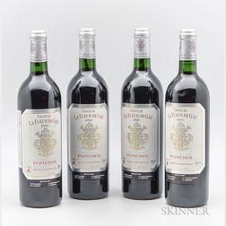 Chateau La Fleur de Gay 2000, 4 bottles