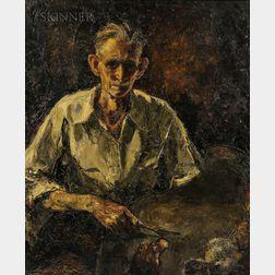 Lawrence Nelson Wilbur (American, 1897-1988)      Self Portrait