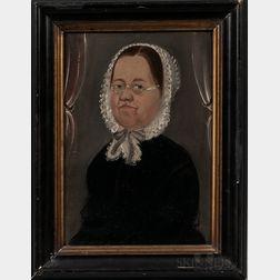 William Matthew Prior (Massachusetts/Maine, 1806-1873)      Portrait of Mrs. Joseph B. Wheelock
