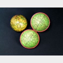 2 3/4-inch New Globe of the Earth by Nicholas Lane