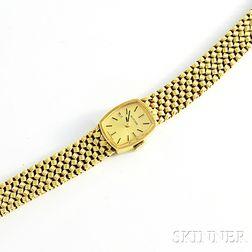 Lady's 14kt Gold Wristwatch, Glycine