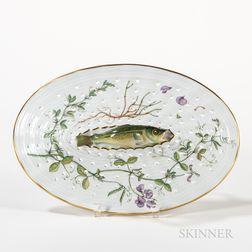 Royal Copenhagen Flora Danica Fish Drainer