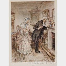 Rackham, Arthur, Illustrator, (1867-1939) & Goldsmith, Oliver (1728- 1774)