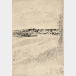Jacques Villon (French, 1875-1963)      Le Pont de Beaugency